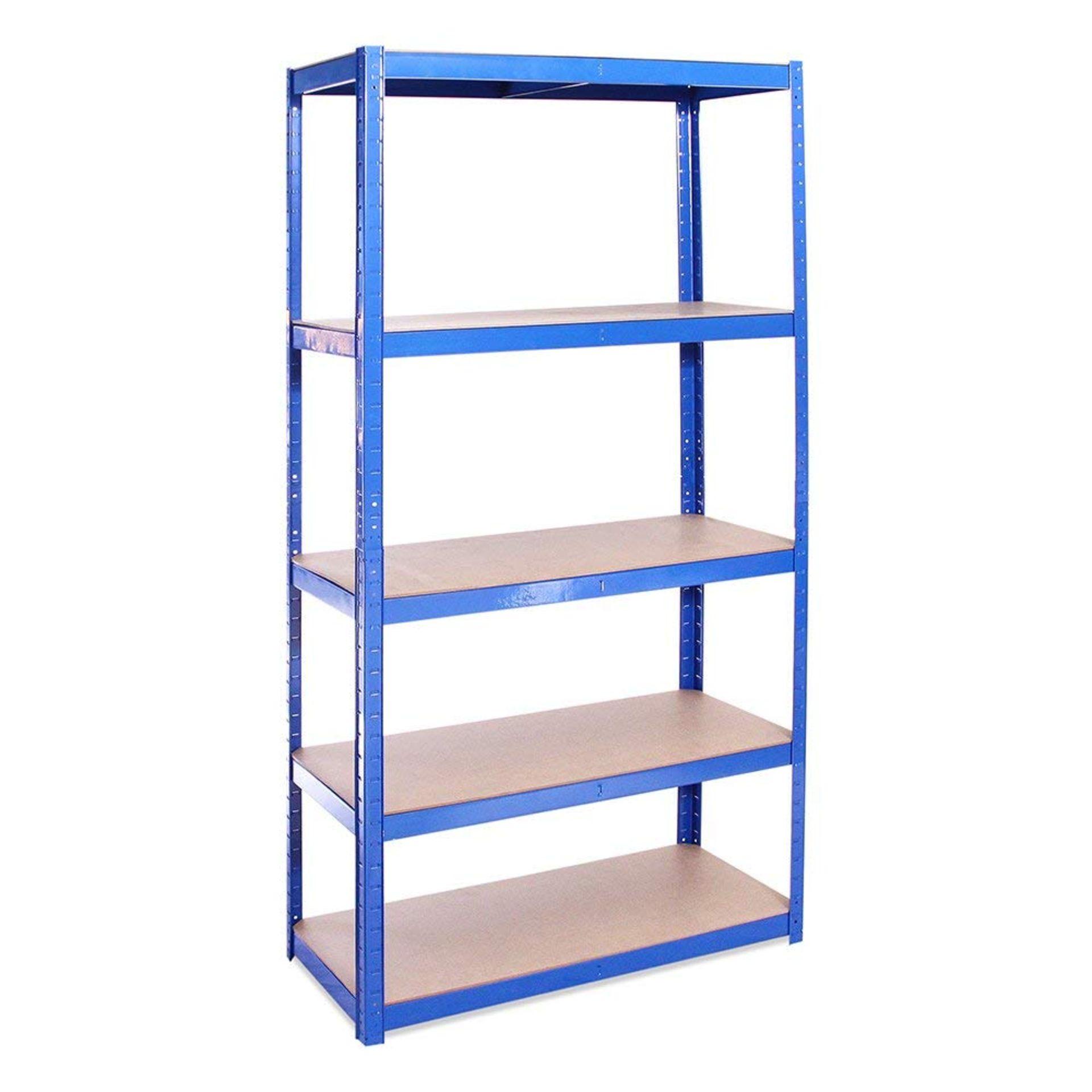 Lot 29 - Garage Shelving Units: 180cm x 90cm x 40cm |Heavy Duty Racking Shelves