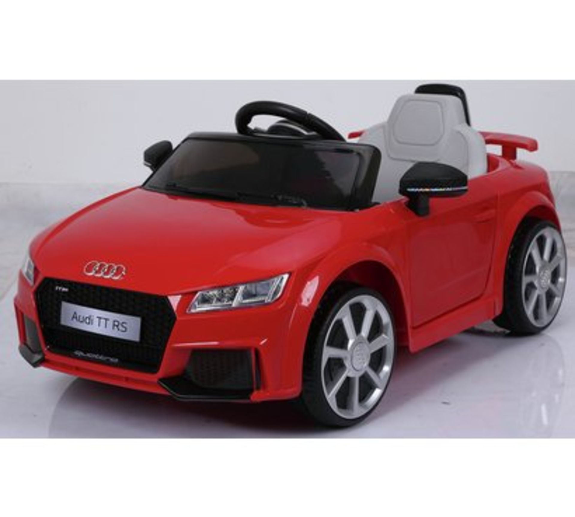 Lot 55 - Audi TT RS 6V Battery Electric Powered Ride On RRP £99.99