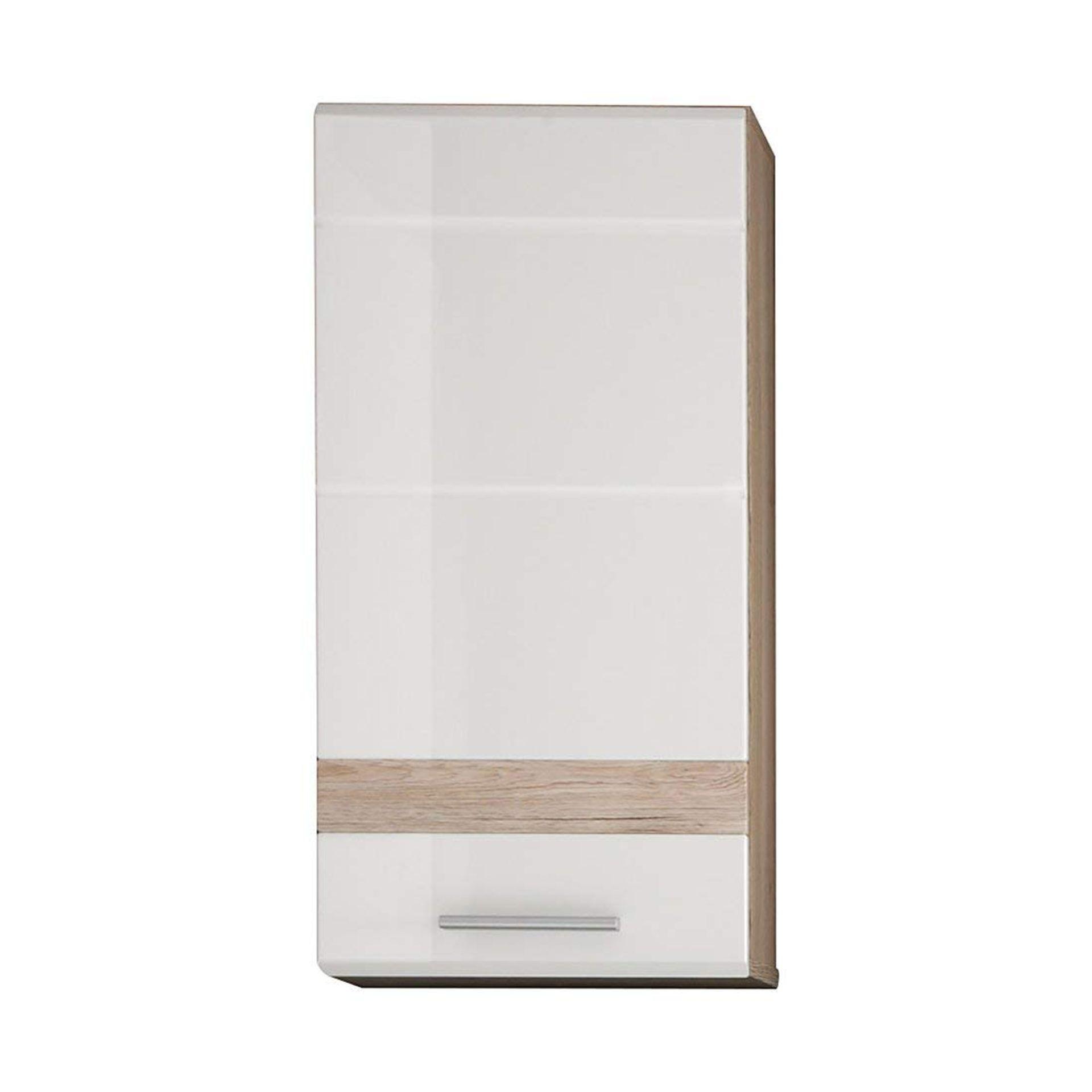 Furnline Bathroom Wall Mounted Cupboard Set