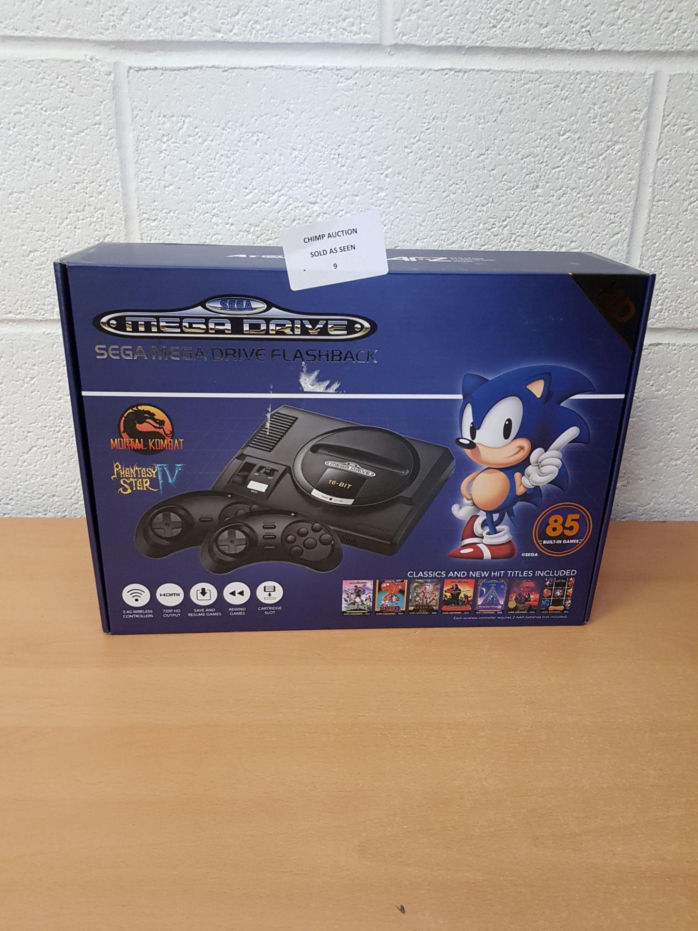 Sega Mega Drive HD Flashback + 85 games retro Console RRP £79.99.