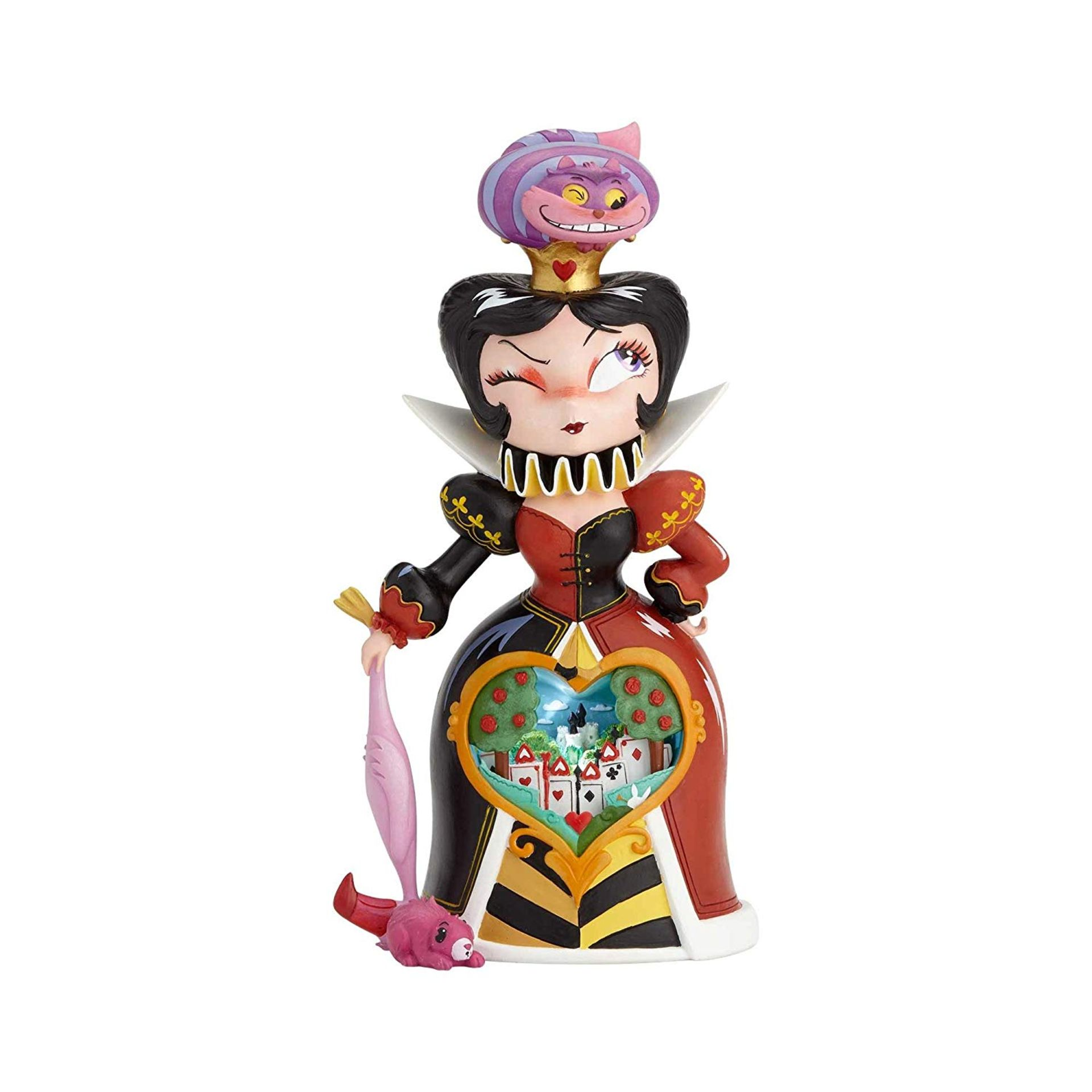 Lot 9 - Miss Mindy Queen of Hearts Figurine ( damaged) RRP £89.99