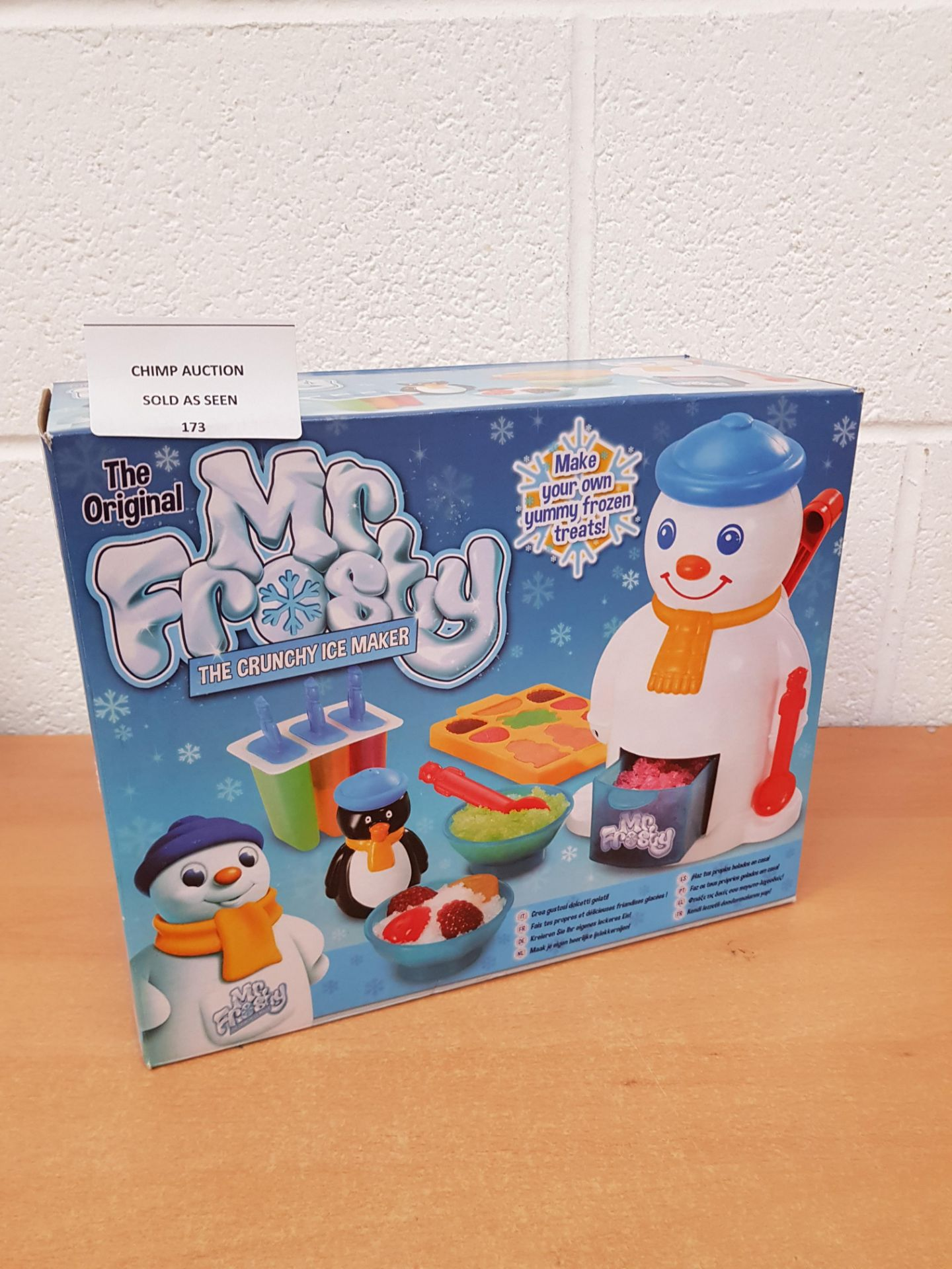 Lot 173 - The original Mr.Frosty Ice maker