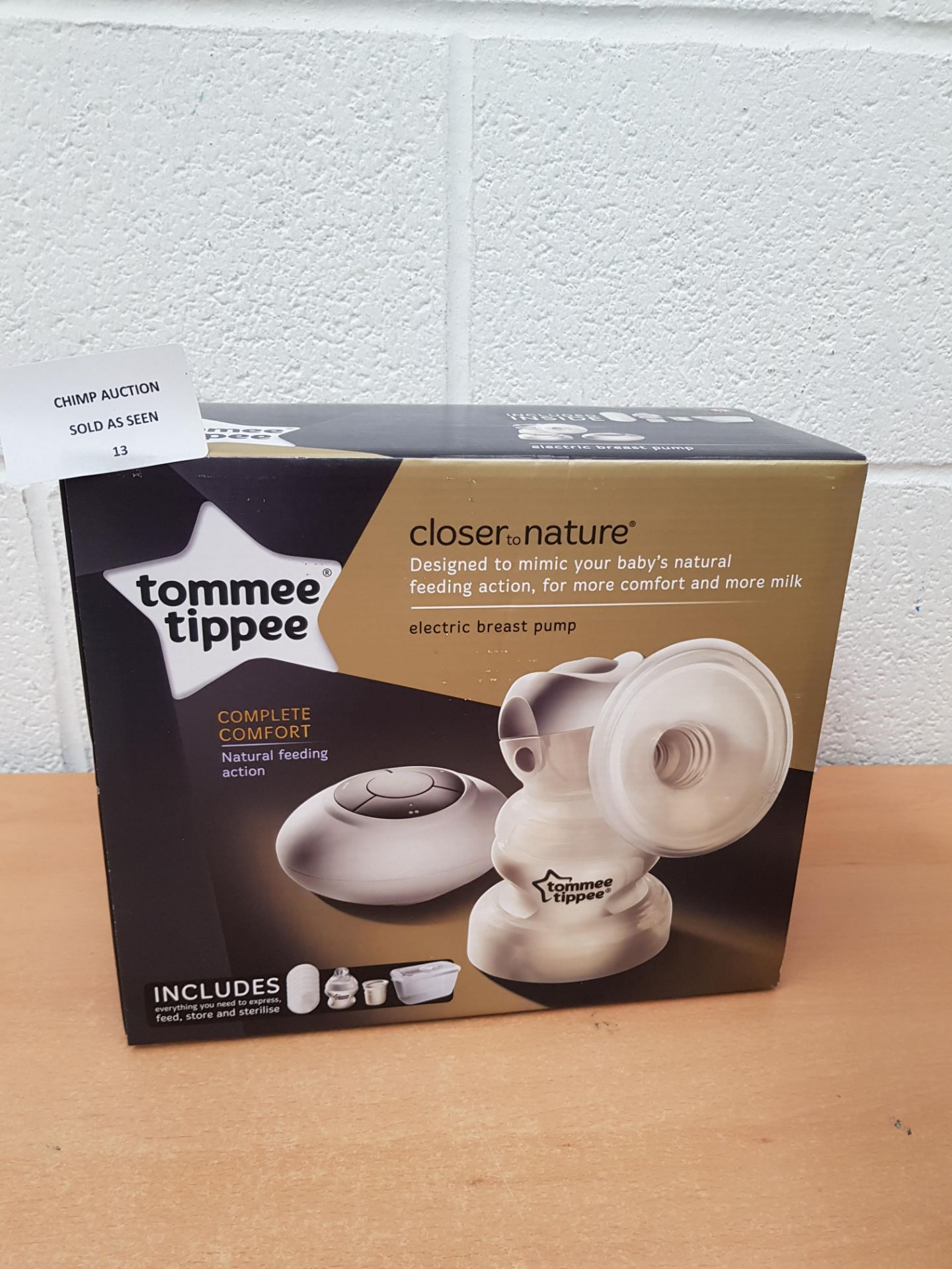 Lot 13 - Tommee Tippee Electric Breast Pump Kit RRP £129.99.