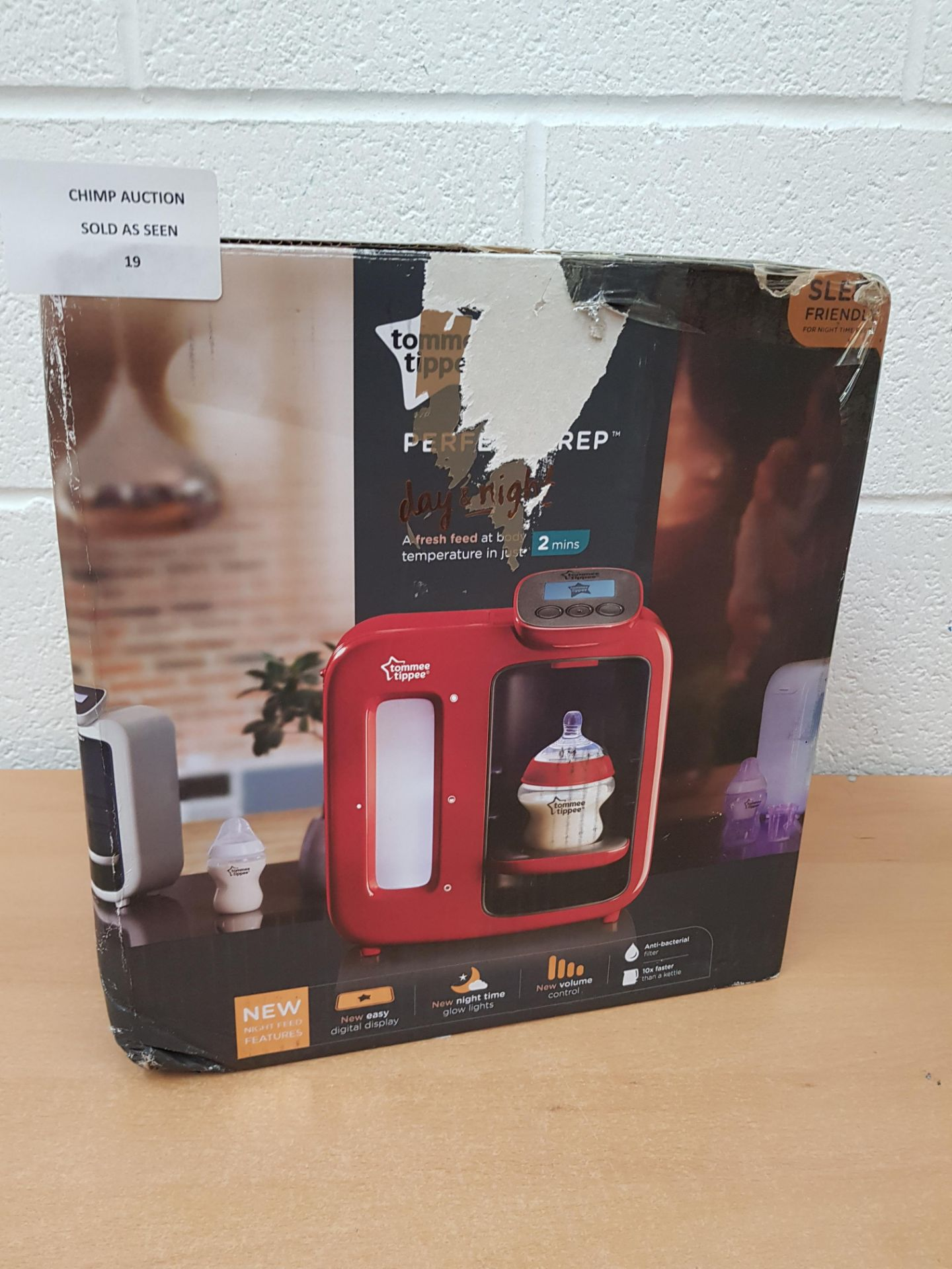 Lot 19 - Tommee Tippee Perfect Prep Day & Night Machine RRP £139.99.