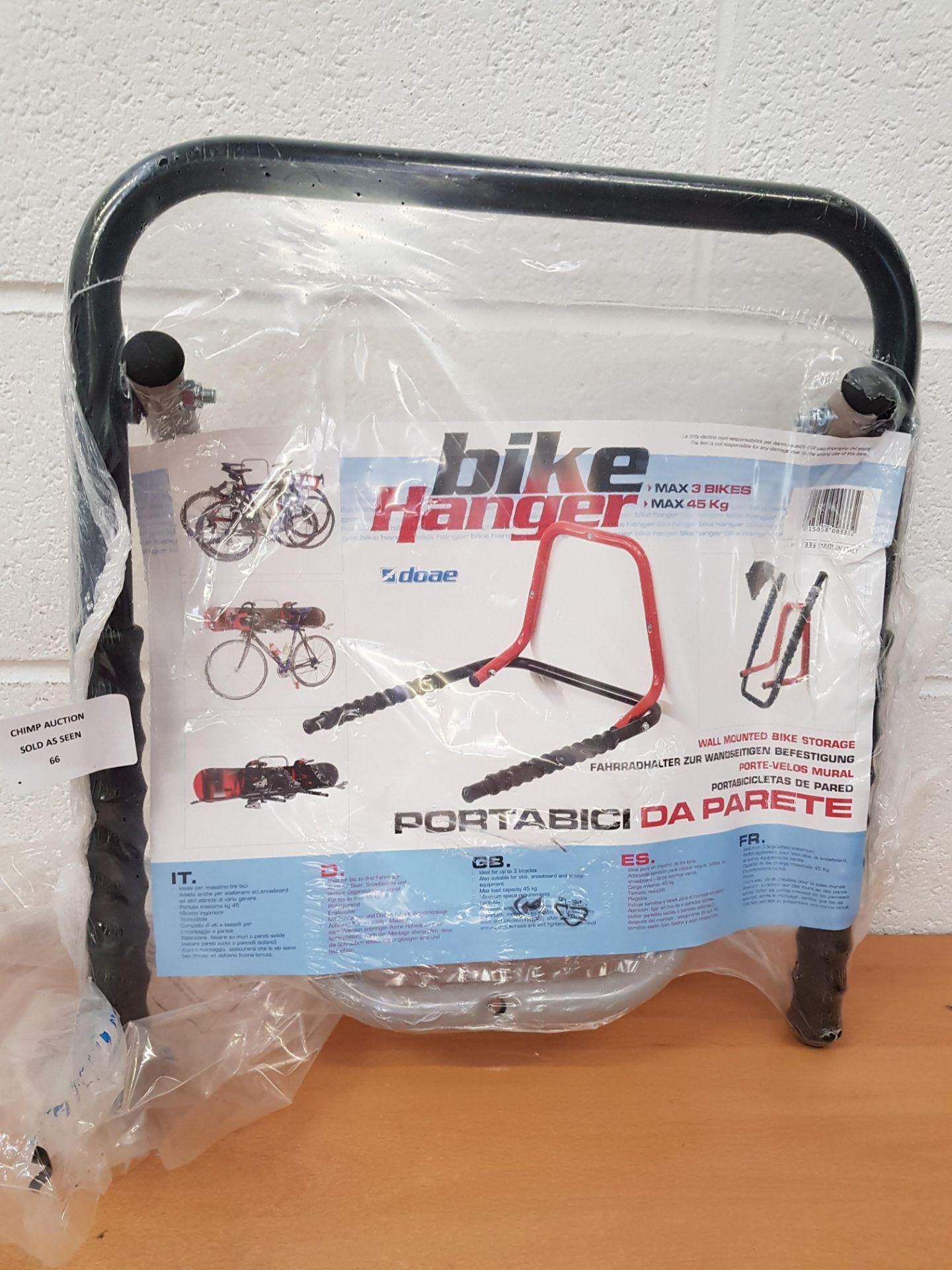 Lot 66 - Bike Hanger Portable Bike hanger