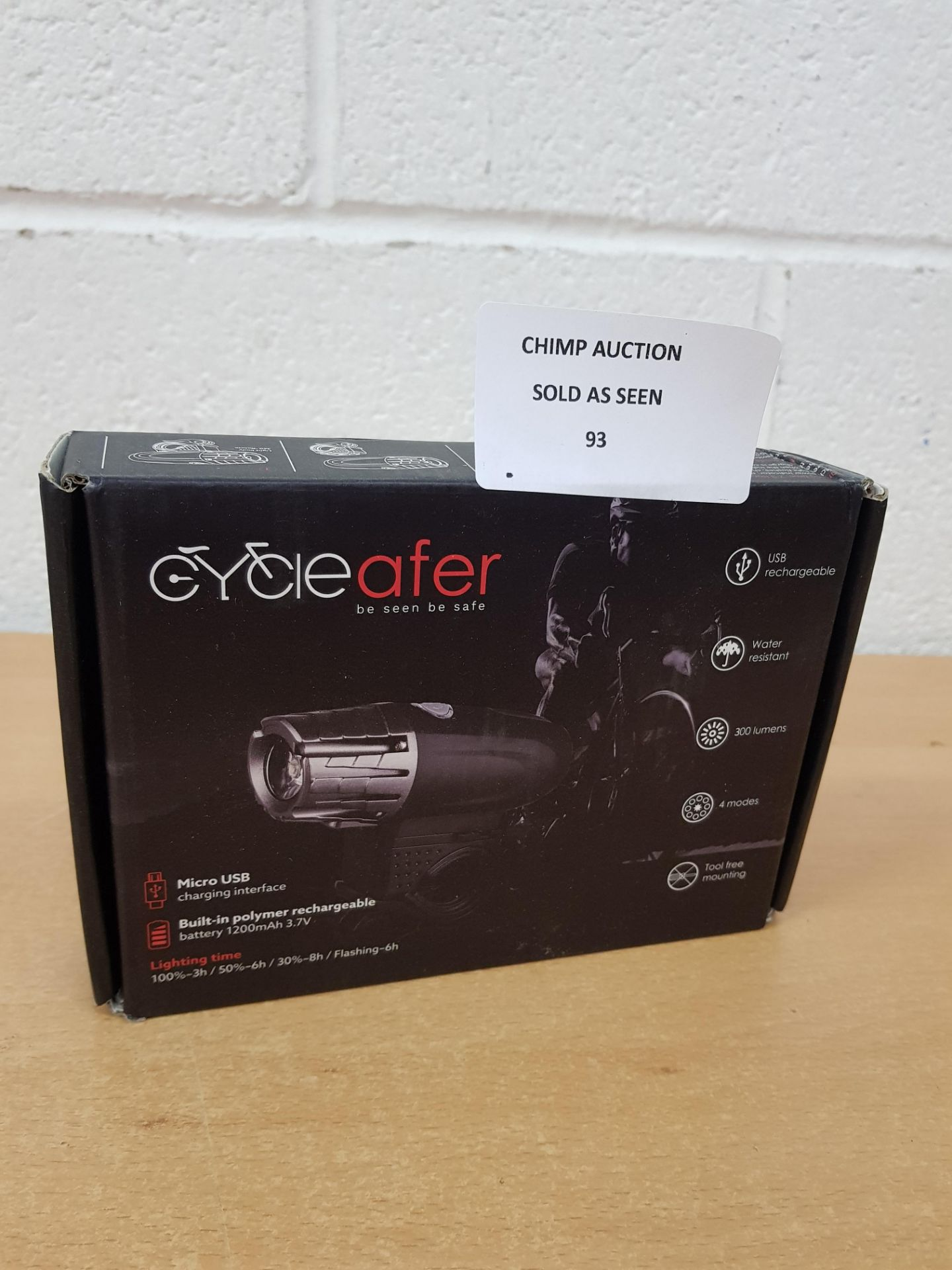 Lot 93 - CycleAfer LED Bike