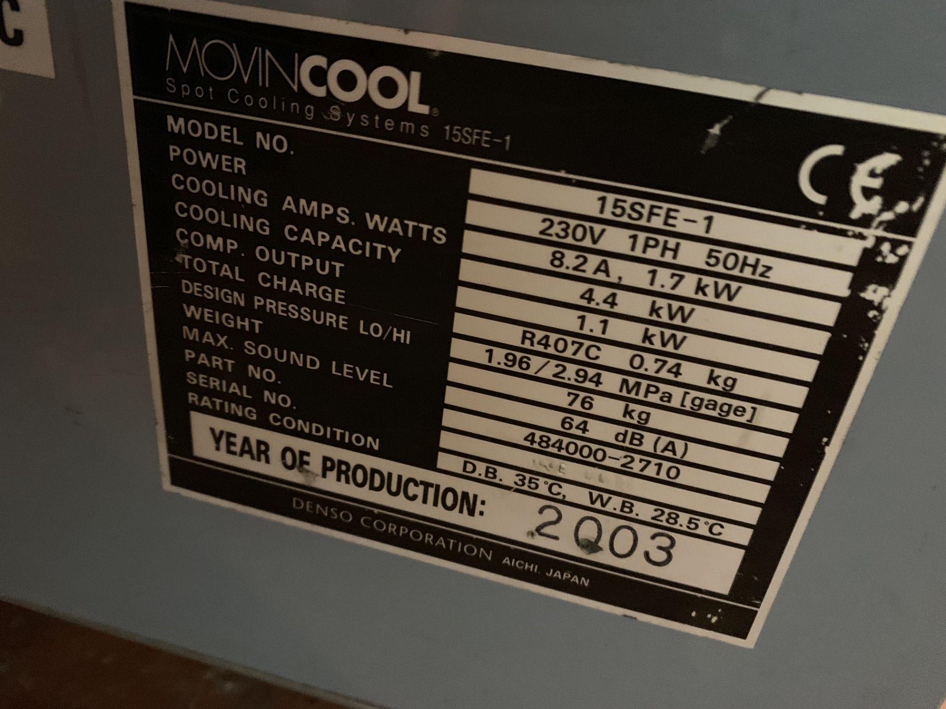 Lot 7 - MOVINCOOL AIR COOLER MODEL 15SFE-1
