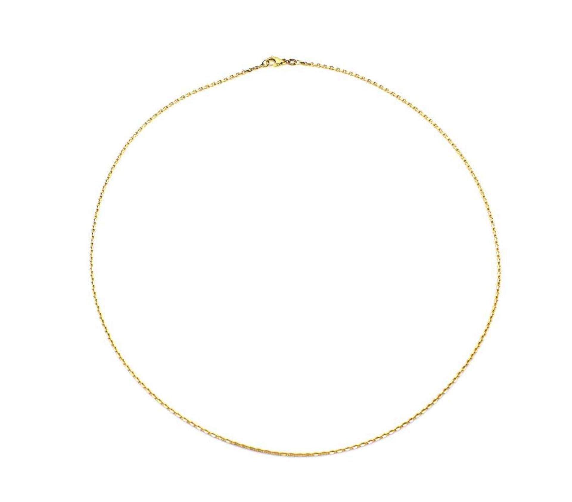 Los 48 - Kette 585 Gold, 8,6 g, Länge ca. 60 cm
