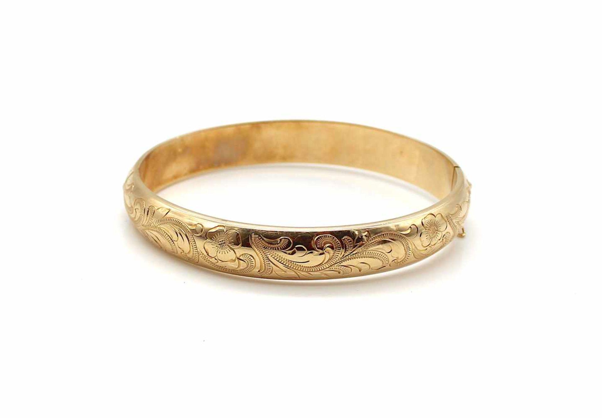 Los 53 - Armreif 585 Gold, 19,9 g