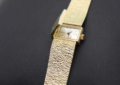 Armbanduhr BWC 585 Gold, 32,8g