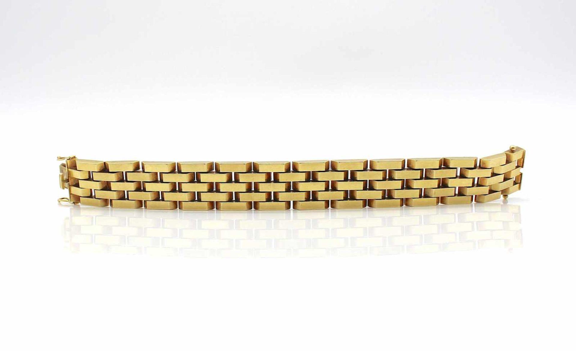 Los 56 - Armband 585 Gold, 43,3 g, Länge 18,5 cm