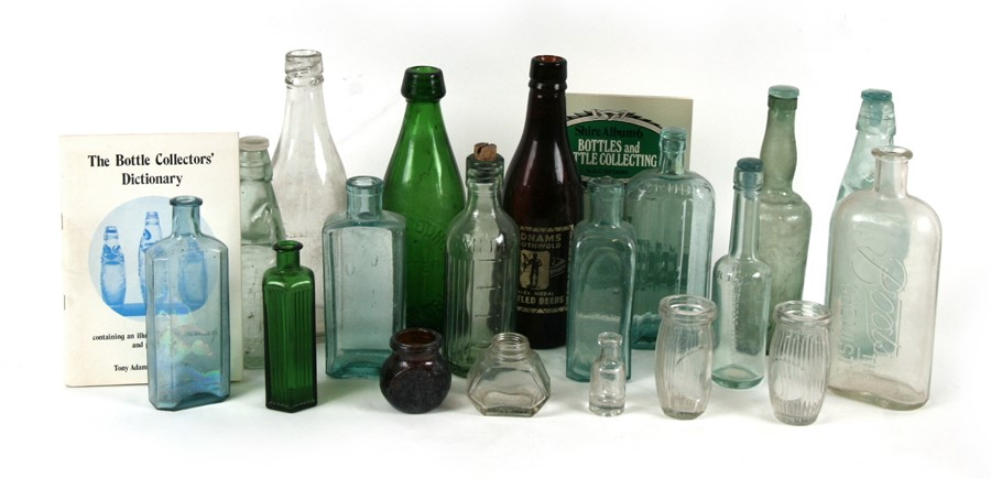 Lot 8 - A Strong & Co. of Romsey lemonade bottle; together with a Haywood of Salisbury bottle; and other