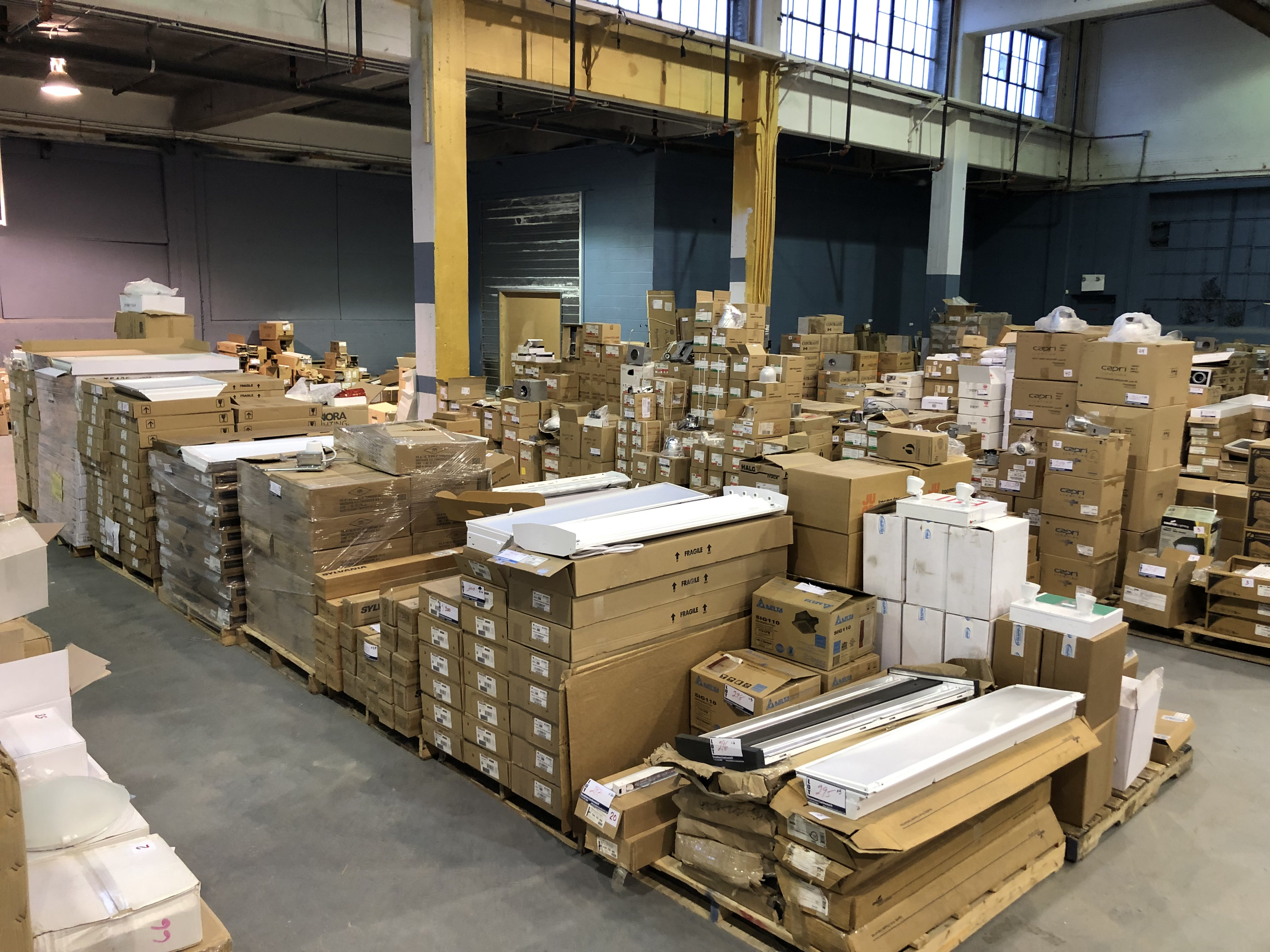 Public Auction - Bankruptcy of Litron Lighting Distributor