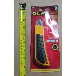 SNAP OFF KNIFE 18mm OLFA L-2