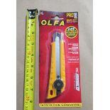 SNAP OFF KNIFE 18mm OLFA L-1