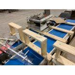 Lot 154 - Mild steel conveyor frame on skid. (Located in Kenosha, WI)