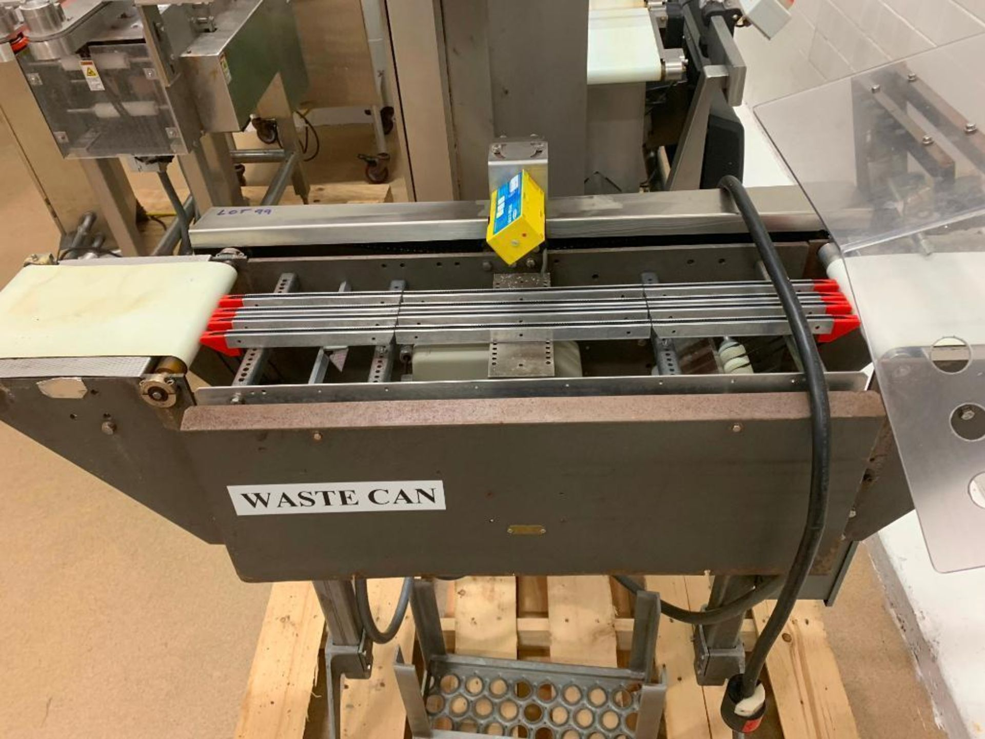 Lot 99 - Mettler Toledo high speed check weigher. (Located in Manawa, WI)