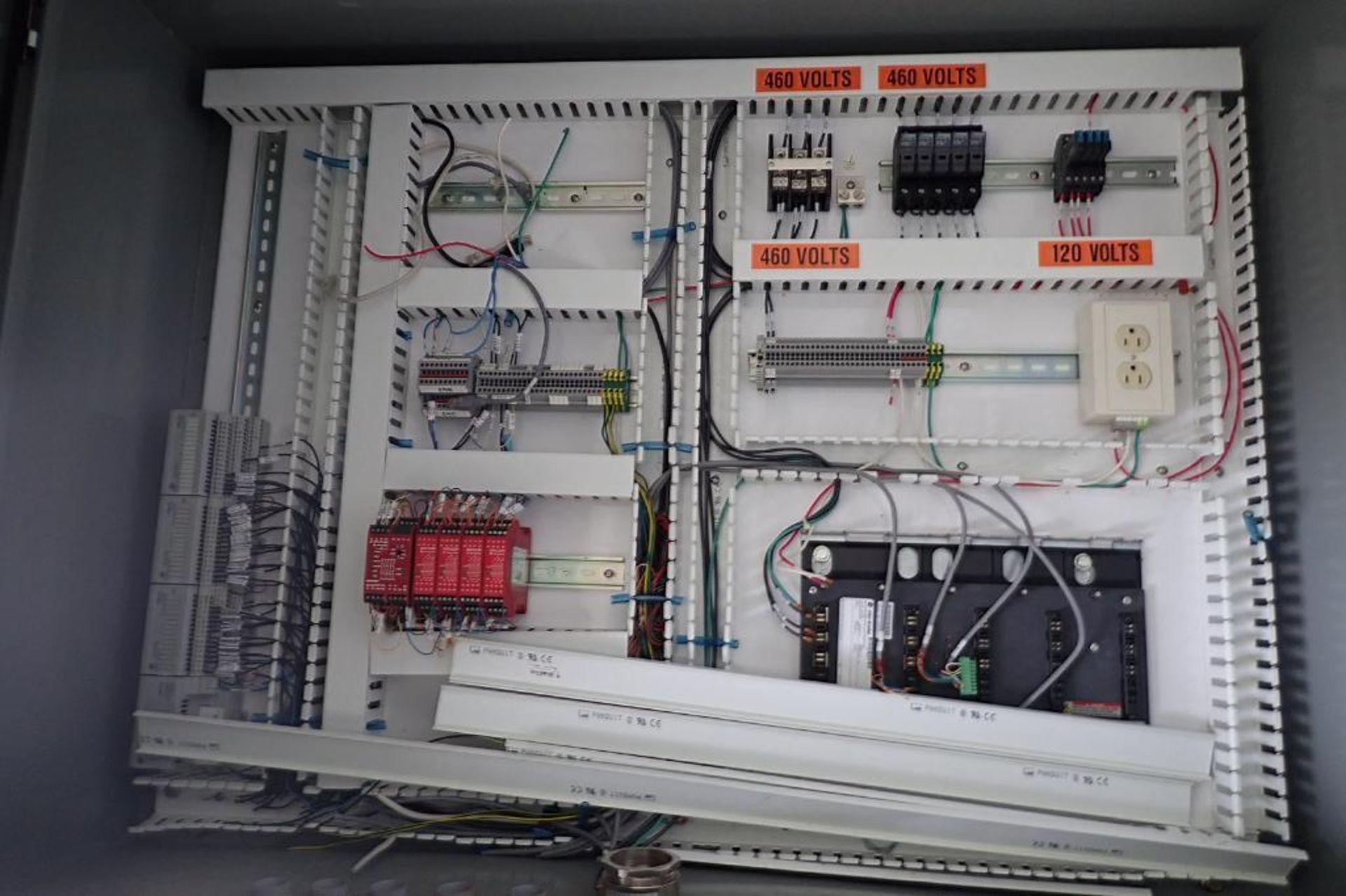Lot 160D - Mild steel control cabinet. (Located in Kenosha, WI)