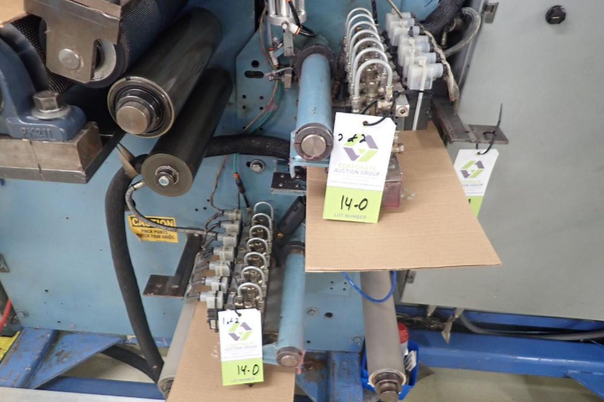 Lot 14D - Slot coater hot glue applicator for bonding/coating machine ** THE INDIVIDUAL BID WILL BE OFFERED