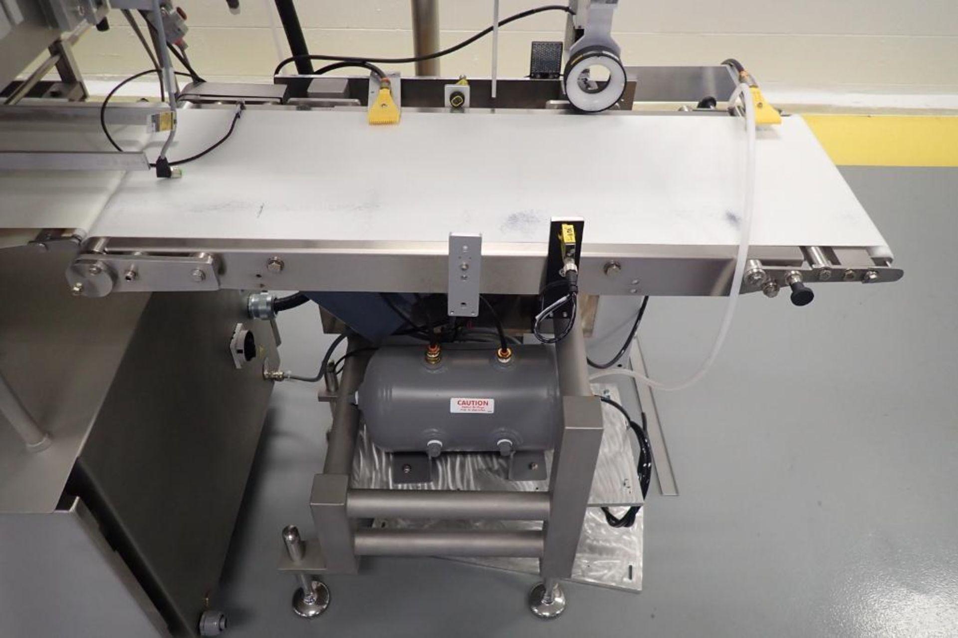 Lot 2 - 2015 GEA twinstar 8 spot tray sealer, SN 4047100314, 4 in. infeed x 12.5 in. discharge, Allen