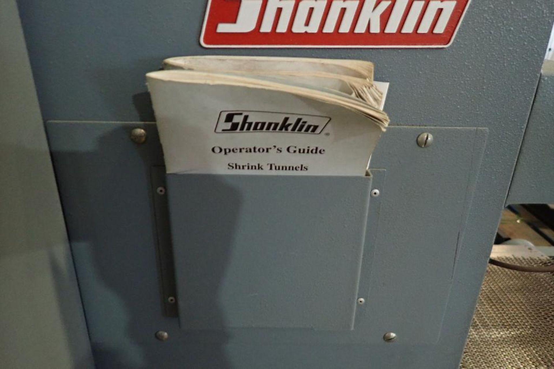 Lot 43 - Shanklin heat shrink tunnel, Model T-62, SN T-99214, tunnel 61 in. long x 19 in. wide x 10 in. tall,
