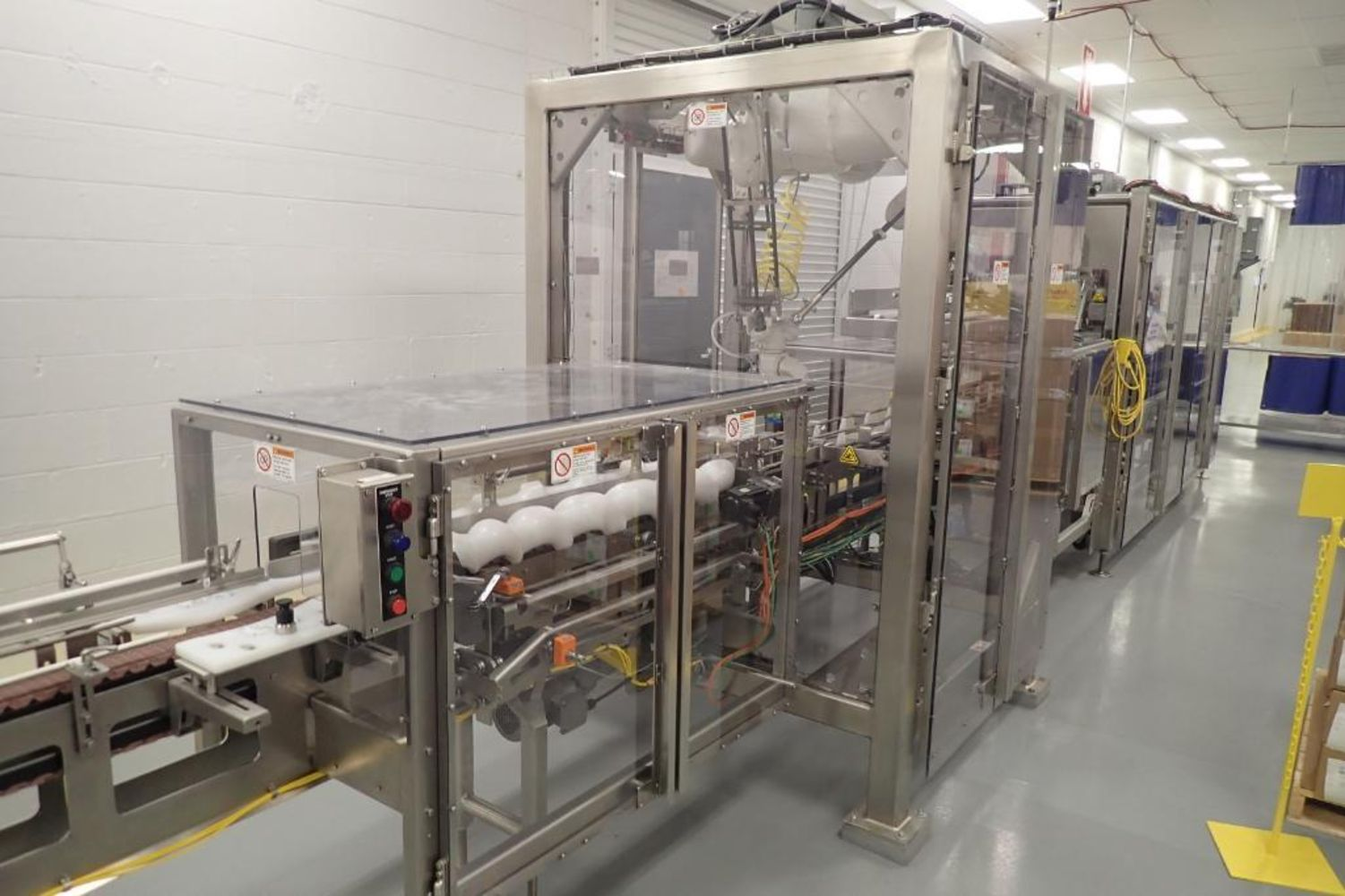 Corporate Auction Group to offer surplus late model packaging equipment from a major contract packaging & manufacturing provider.