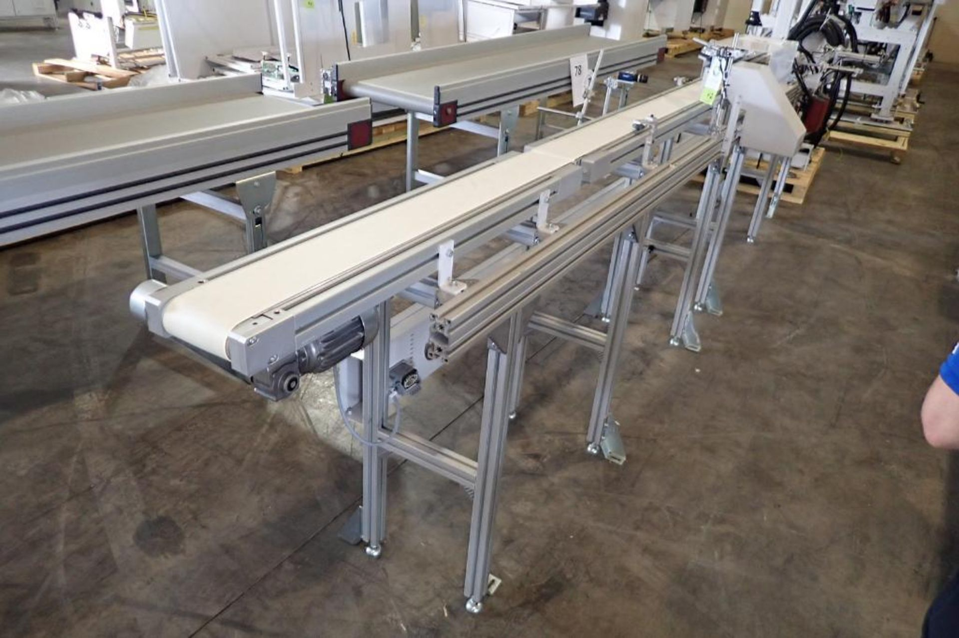 Lot 42 - 2015 Whittmann robotic inter molded label placing system, robot type W837-0139, article number