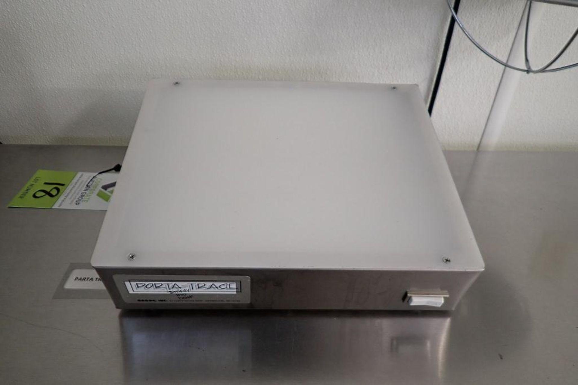 Lot 18 - Porta-trace lamp, Model 1012, 16 watt { Rigging Fee: $25}