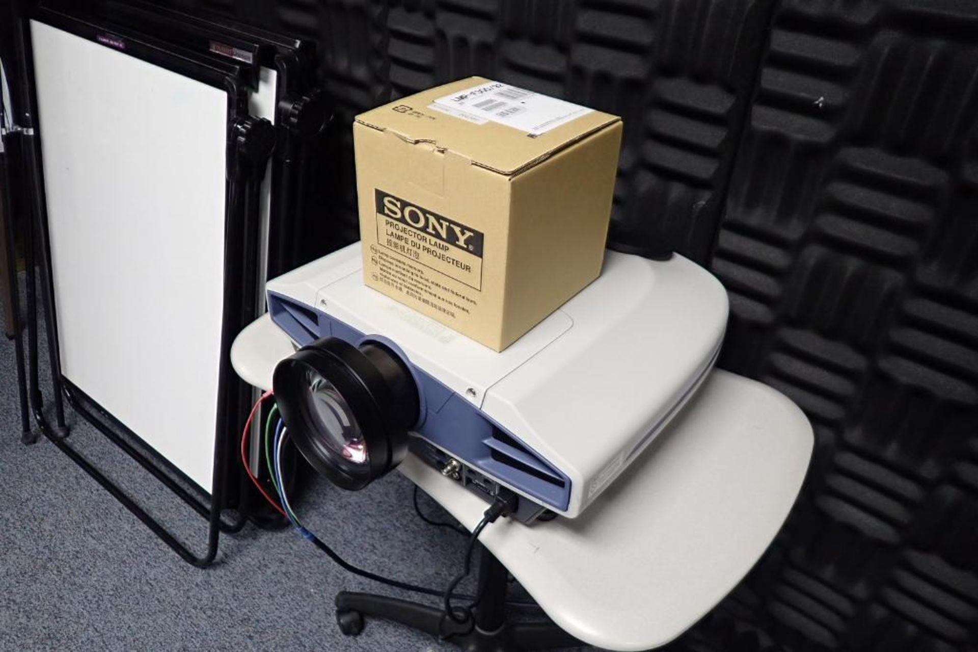 Lot 2440 - (3) Sony rear screen projectors