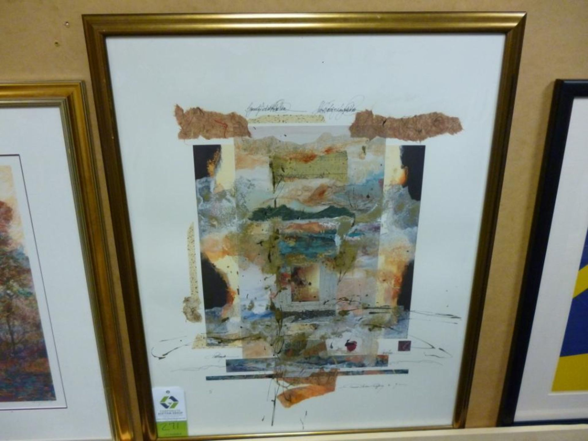 Lot 3271 - Artist: Rafferty size: 34 1/2 x 43 Notes: