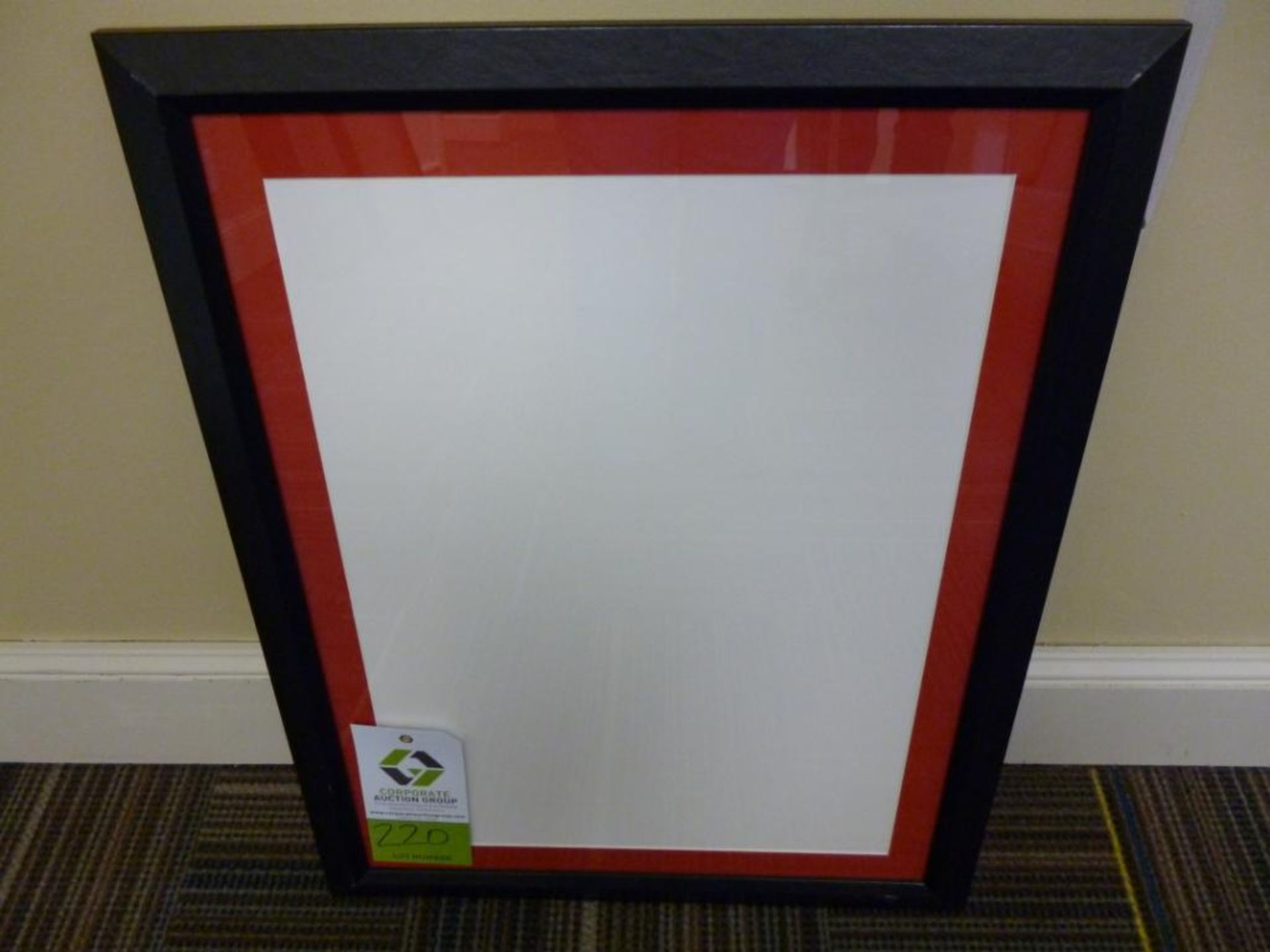 Lot 3220 - Artist: size: 20 1/2 x 26 Notes: Frame