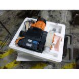 Prominent-Sigma fluid metering pump, model 83CBH040830PVT8170WD1000C, ser. no 2713002445, dose