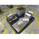 (4) Leeson stainless motors, (1) 10 hp, (1) 7.5 hp, (1) 5 hp, (1) 1 hp [1st Flr Main Shipping Area]