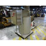 AFCO stainless foam holding tank model AF4100, with 1 in x 1.5 in diaphragm pump, 4 ft deep x 39