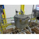 (1) Bunting stainless 3 in magnetic flow trap [1st Flr Main Shipping Area]