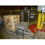 Mettler Stainless Digital Platform Scale, 22 ft x 28 ft, 50 lb cap [1st Flr Main Shipping Area]