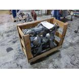 Sandpiper stainless 4 in x 4 in diaphragm pump, model HDF3DN7, ser. no 2177236 [1st Flr Main