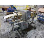 Safeline metal detector, model SL 2000, 14 in x 11 in x 5 in aperture w. 12 in w x 69 in L