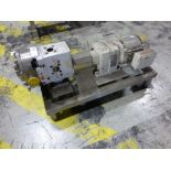 Waukesha 1.5 in stainless positive displacement pump, model 0300, ser. no A2345N, with 1.5 hp motor,