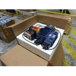 Prominent Sigma fluid metering pump, model S#CBH040830SSTS100UD010S0EN, dose rate 274.70PH, 1040 L/H