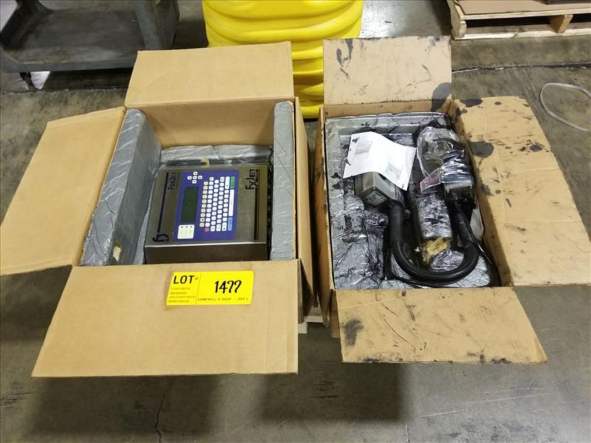 Fox Jet 700 Ink Jet Printer Screen and 2 printing head, ITW Corp