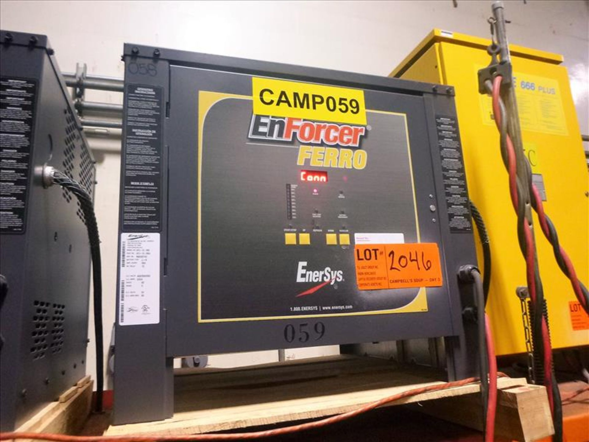 Lot 2046 - Enforcer Ferro battery charger, 24V [Material Handling]