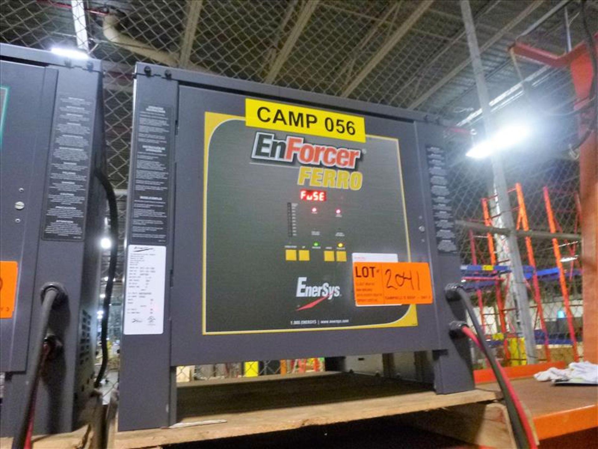 Lot 2041 - Enforcer Ferro battery charger, 48V [Material Handling]