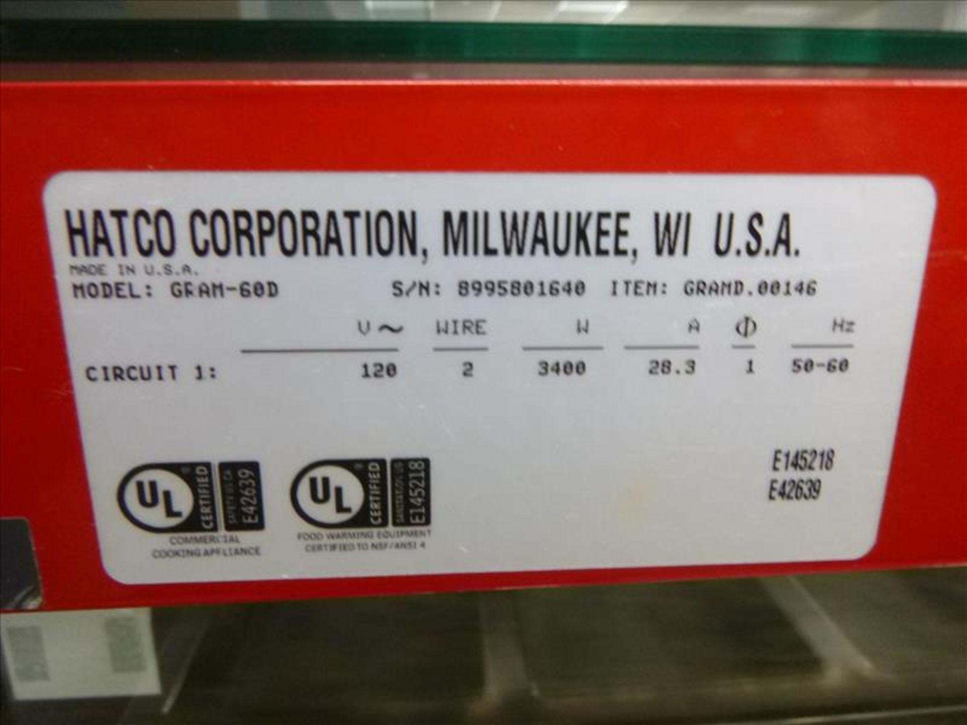"Lot 2371 - Hatco model GRAM-60D Glo-Ray Food Warmer 60"" x 17"" [Kitchen, 1st Floor]"
