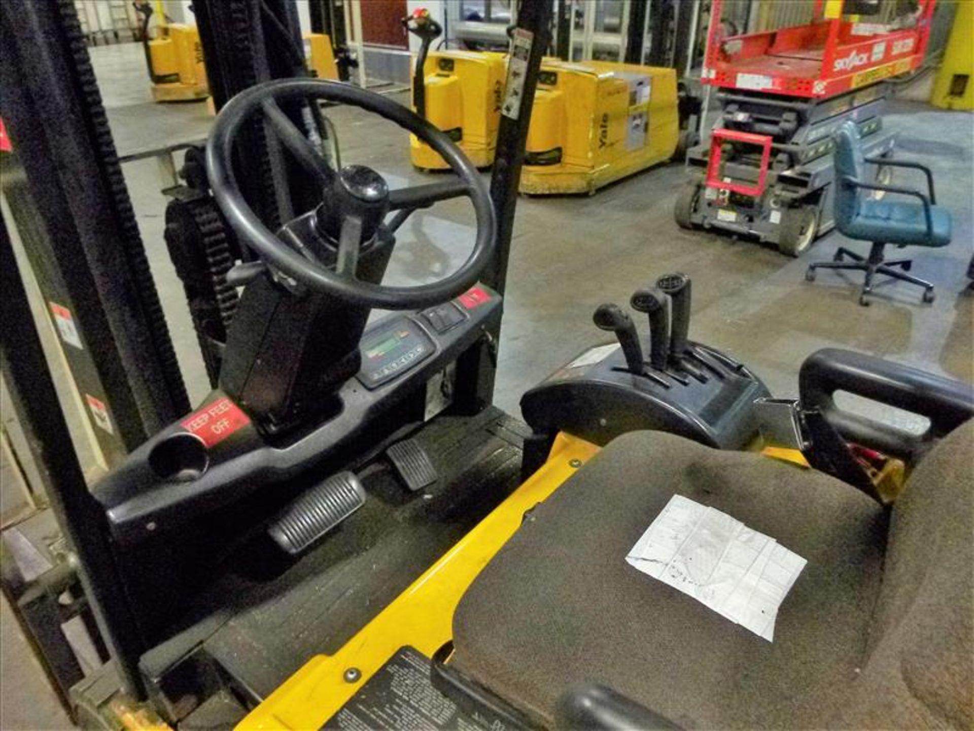 Yale fork lift truck, mod. ERP040VTHN48TE078, ser. no. F807N03990D, 48V electric, 3700 lbs cap., 175 - Image 3 of 4