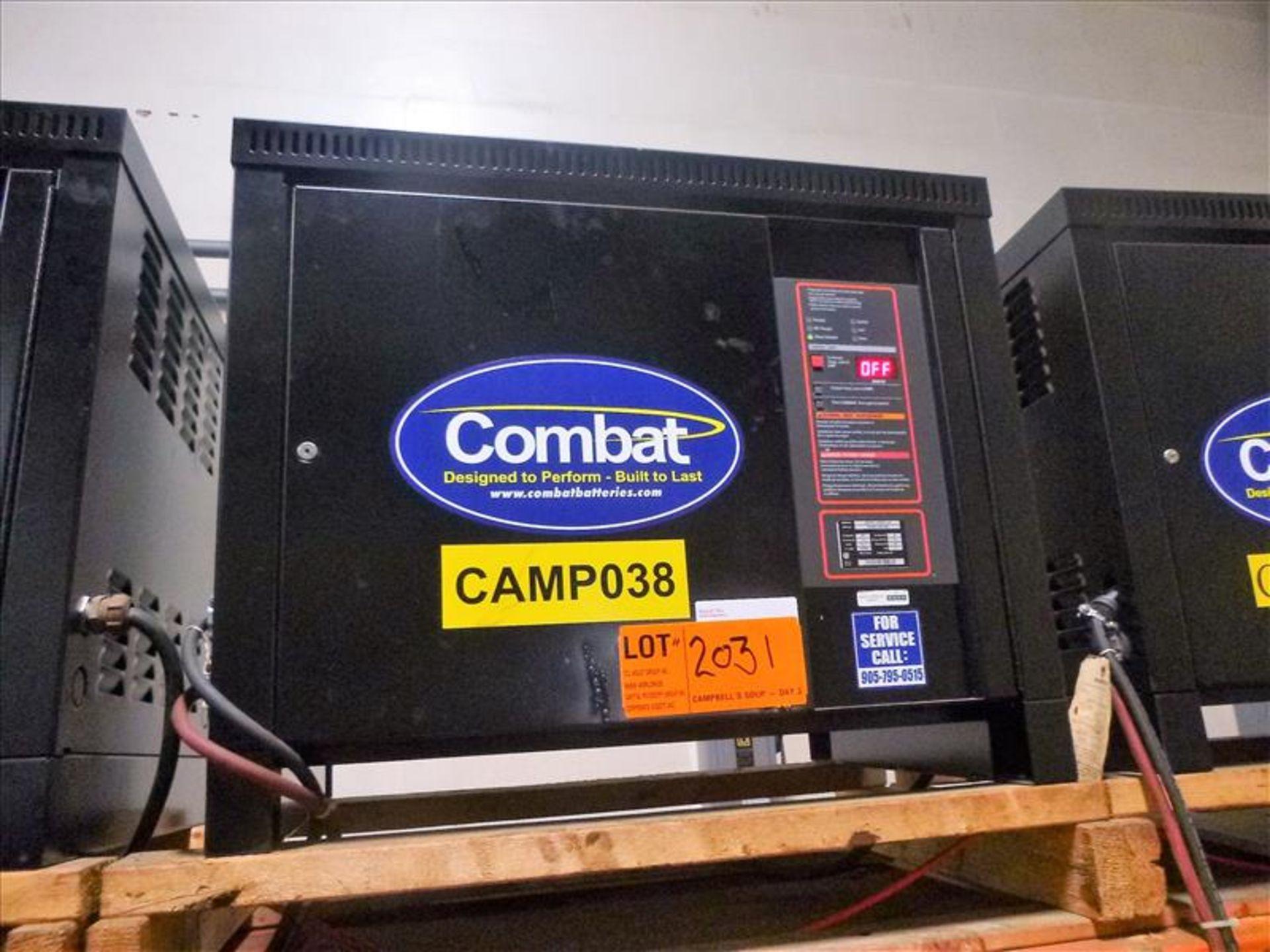 Lot 2031 - Combat battery charger, 48V [Material Handling]
