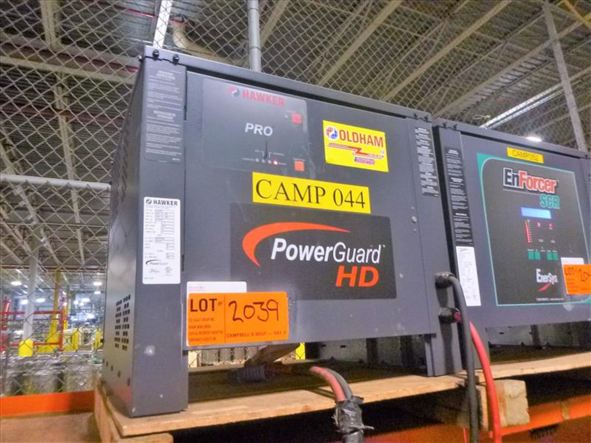 Lot 2039 - Hawker battery charger, 48V [Material Handling]