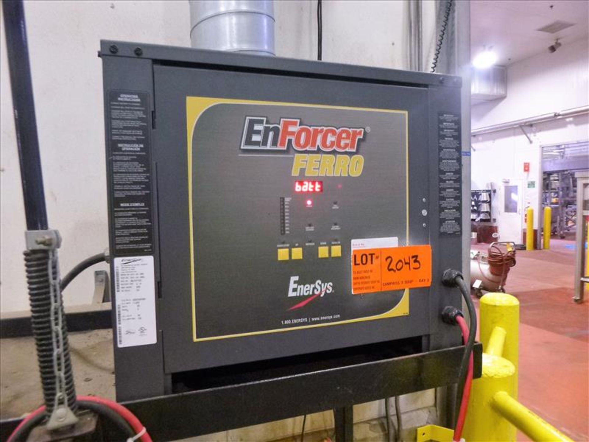 Enforcer Ferro battery charger, 48V [Material Handling]
