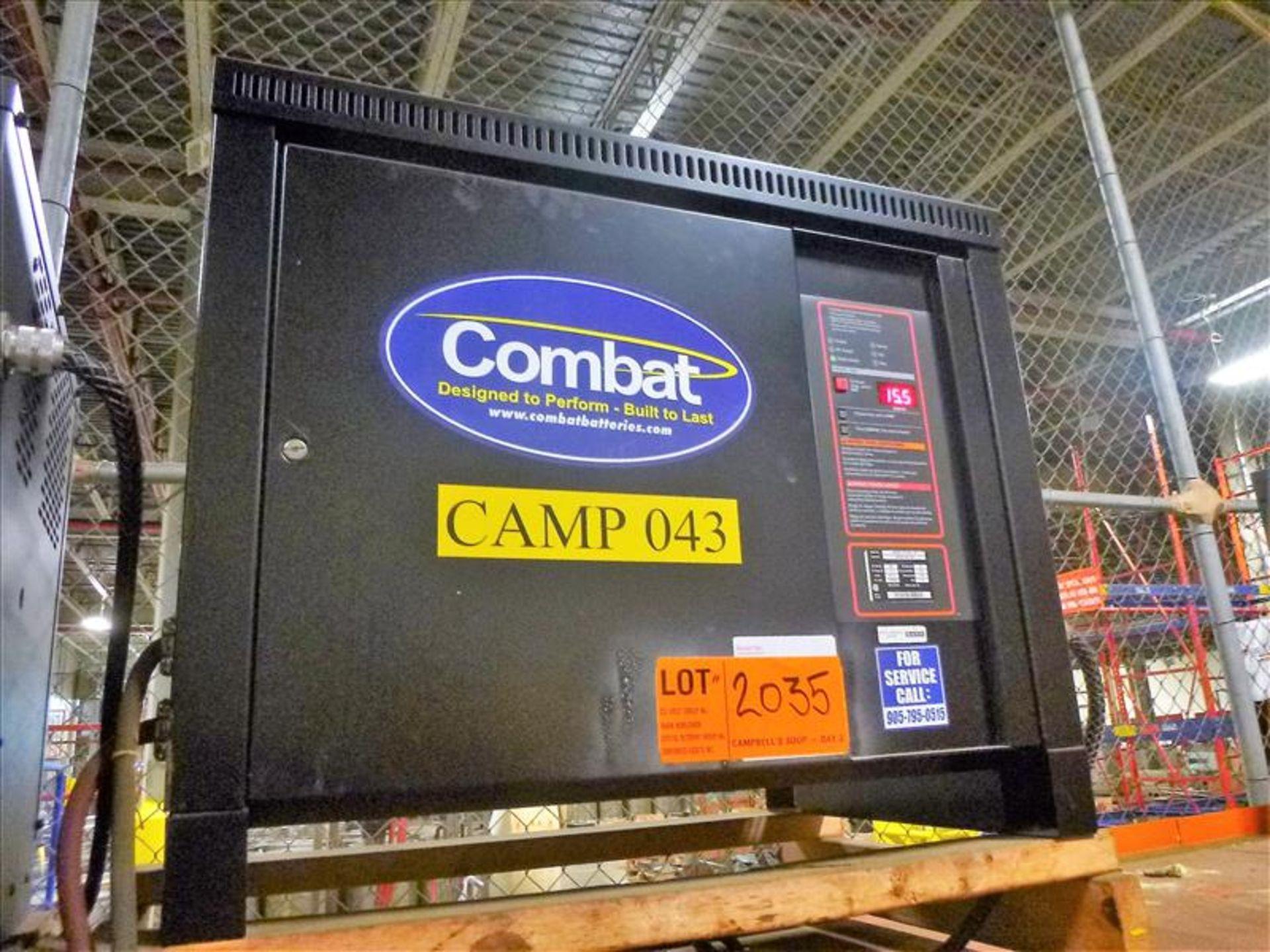 Lot 2035 - Combat battery charger, 48V [Material Handling]