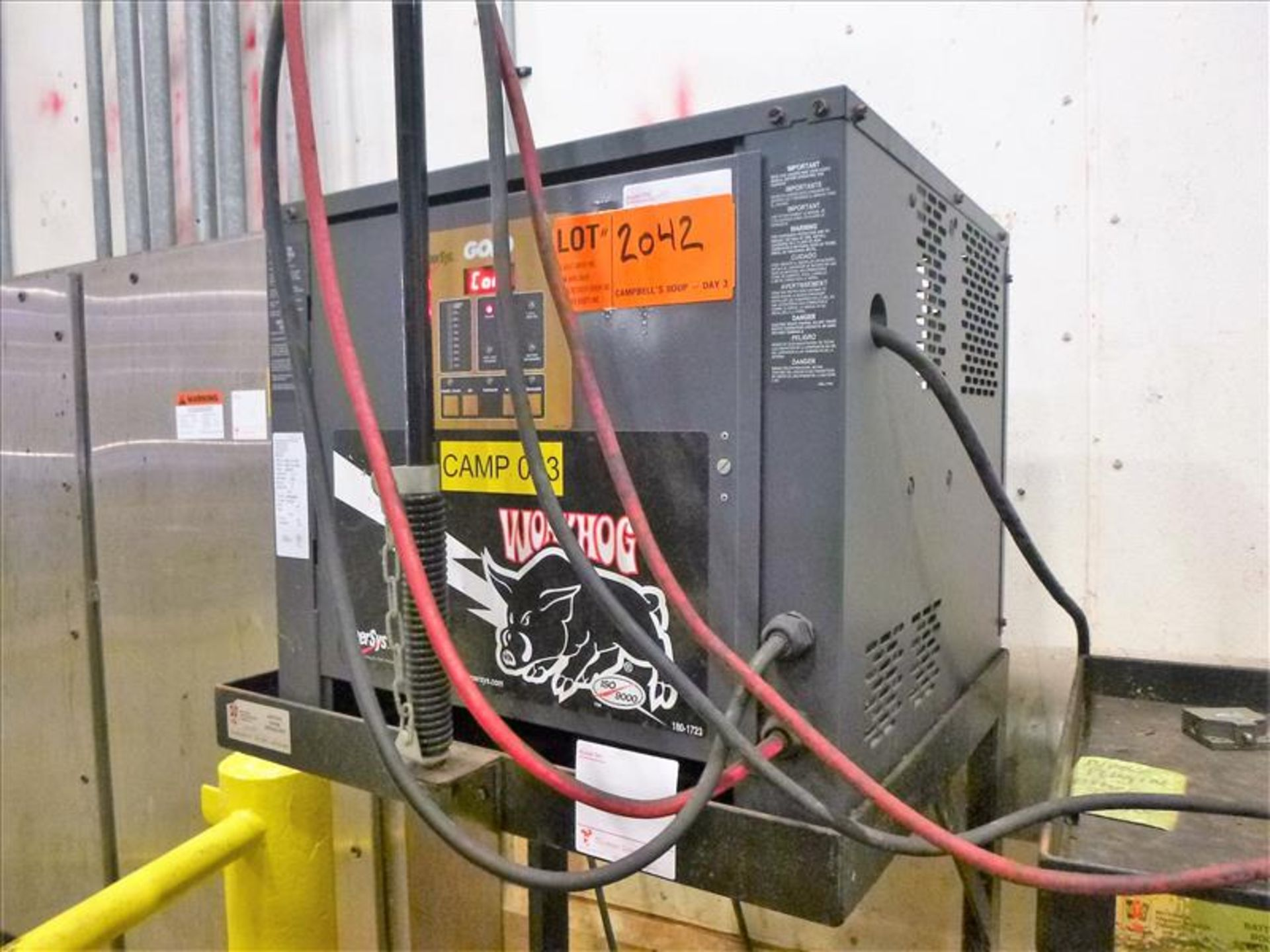 Lot 2042 - WorkHog battery charger, 48V [Material Handling]